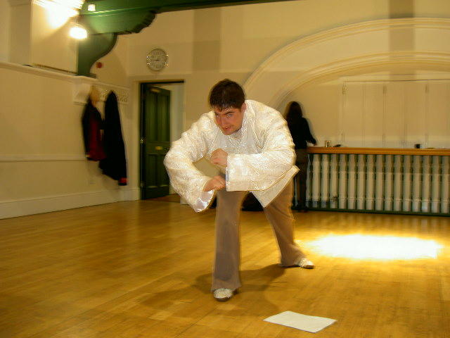 Yi Jin Jing Exercise 6 Pulling the Ox by the Tail